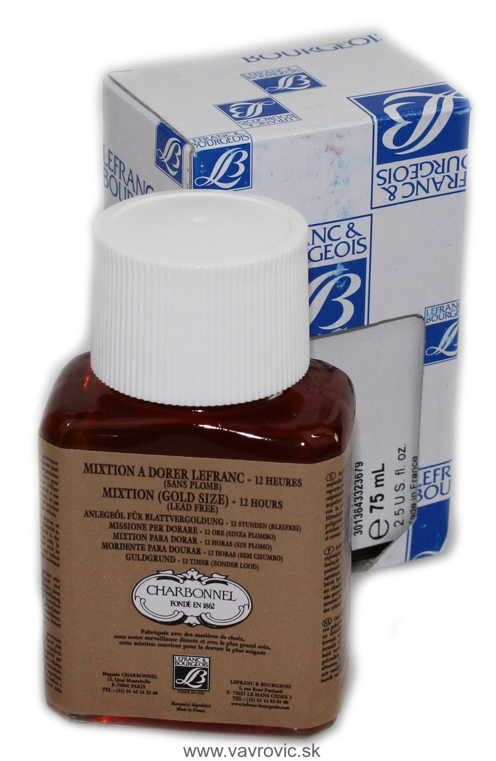 Mixtion Lefranc 12hod. - 75ml.